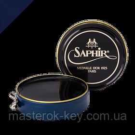 Паста для взуття Saphir Medaille d'or Pate De Luxe колір темно синій (06) 50 мл