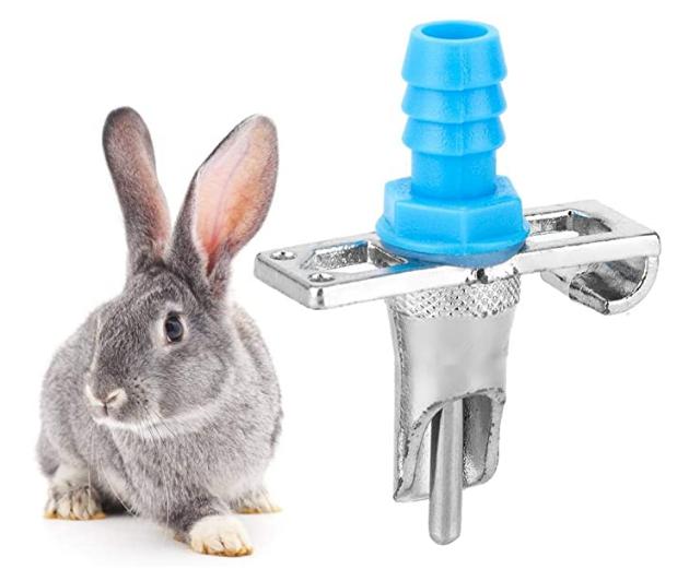 Сосковая поилка для кроликов, шиншил, нутрий