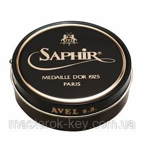 Паста для обуви Saphir Medaille D'or Pate De Luxe цвет темно коричневый (05) 100 мл