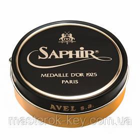 Паста для обуви Saphir Medaille D'or Pate De Luxe цвет оранжево-желтый (79) 100 мл