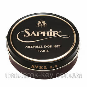 Паста для обуви Saphir Medaille D'or Pate De Luxe цвет бургунд (08) 100 мл