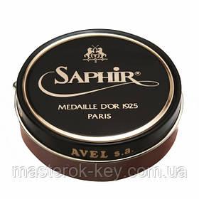 Паста для взуття Saphir Medaille d'or Pate De Luxe колір коньяк (10) 100 мл