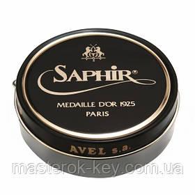 Паста для обуви Saphir Medaille D'or Pate De Luxe цвет серый(14) 100 мл