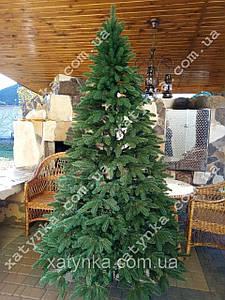 Литая елка Премиум 2.50м. зеленая   / Лита ялинка штучна / Ель литая / Ёлка с пластика