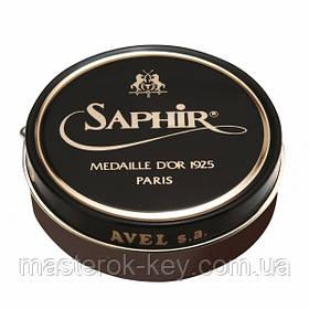 Паста для обуви Saphir Medaille D'or Pate De Luxe цвет табак(34) 100 мл