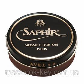 Паста для обуви Saphir Medaille D'or Pate De Luxe цвет средне-коричневый (37) 100 мл