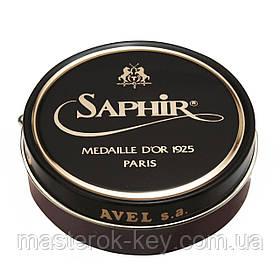 Паста для взуття Saphir Medaille d'or Pate De Luxe колір махагон (09) 50 мл