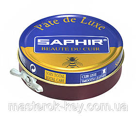 Паста для обуви Saphir Pate De Luxe цвет бордовый (08) 50 мл