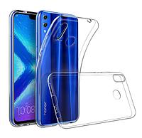 Чохол силіконовий для Huawei Honor 8X ультратонкий прозорий (хуавей хонор 8х)