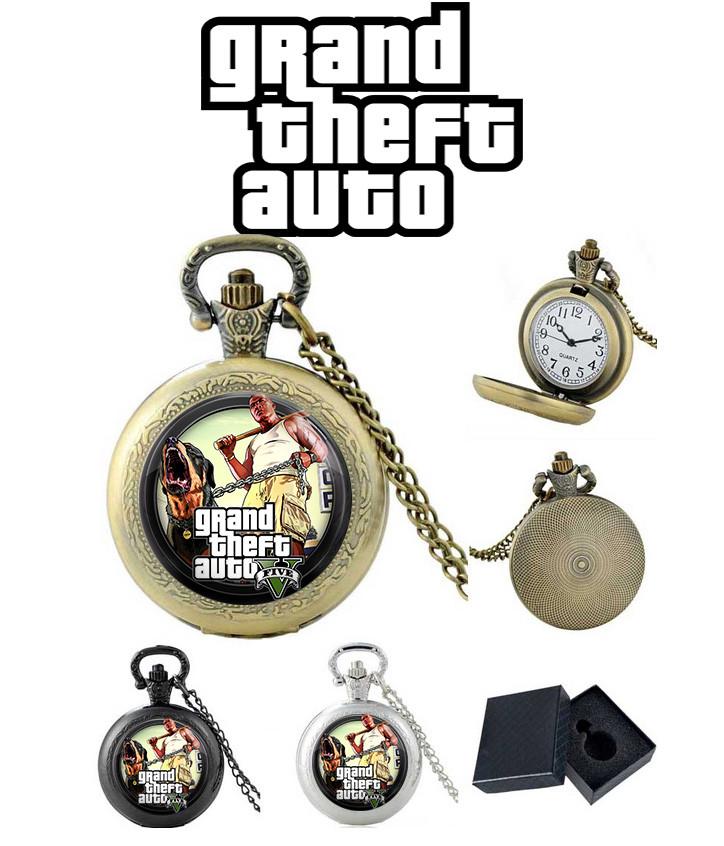 "Карманные часы GTA ""Angry Dog"" / Grand Theft Auto"