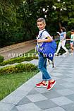 Кеды детские красные,кроссовки детские Violeta-Wonex 220-5, фото 2
