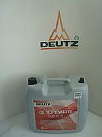 Масло моторное для дизельных двигателей DEUTZ TLX 10W40 FE