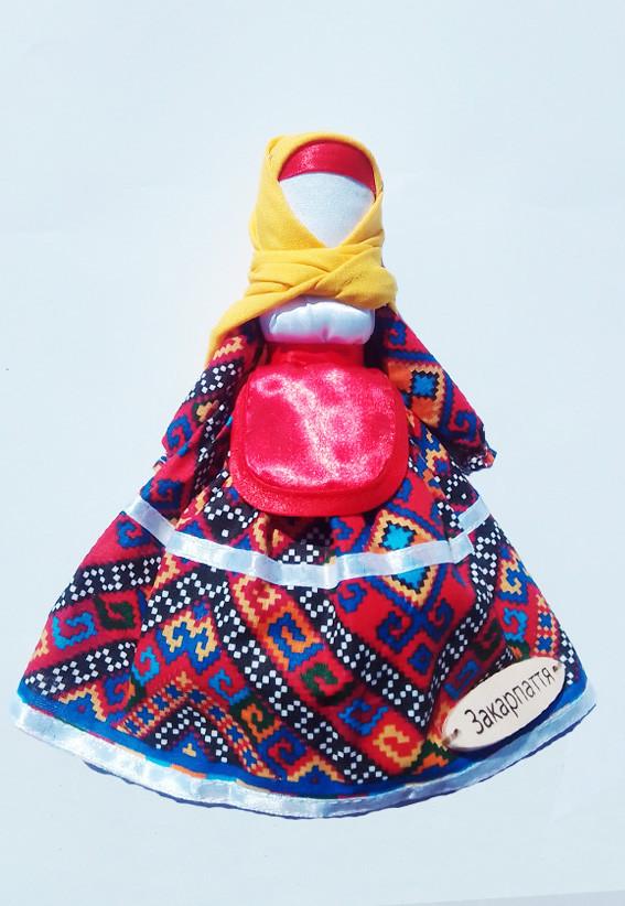 Кукла мотанка Hega  Закарпатская область Закарпатье (230-6)