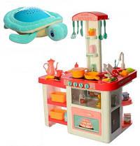 Вместе дешевле! Кухня детская с циркуляцией воды Home Kitchen (КОРАЛЛОВАЯ) арт. 889-63-64 + ночник