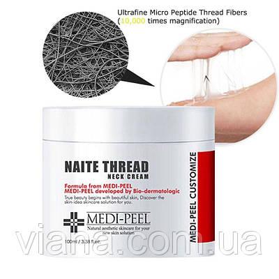Антивозрастной пептидный крем для шеи MEDI-PEEL Naite Thread Neck Cream  100 ml