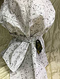 Бандана-шапка-чалма-косынка хлопковая в мелкий цветочек, фото 8