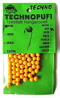 Технопуфи шарики из пенопласта, Мед, mini (2-4мм)