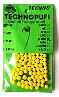 Наживка Techno pufi Ваниль, mini (2-4мм)