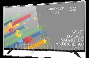 """Телевизор Ерго Ergo 32"""" Smart-TV/Full HD/DVB-T2/USB (1920×1080) Android 9.0, фото 2"""