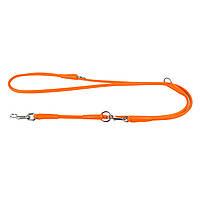 Collar Glamour поводок-перестежка, оранжевый #1, фото 1
