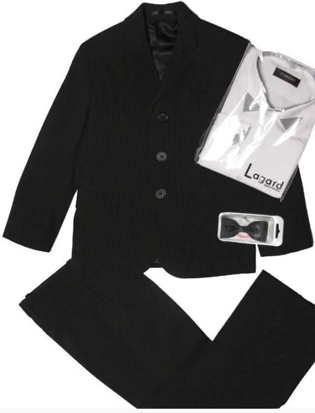 костюм черный для мальчика 104-116 рост
