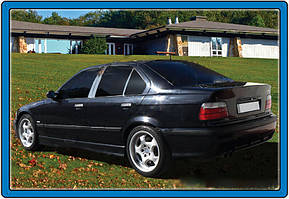 BMW 3 серия E-36 1990-2000 гг. Хром на стойки (нерж.)