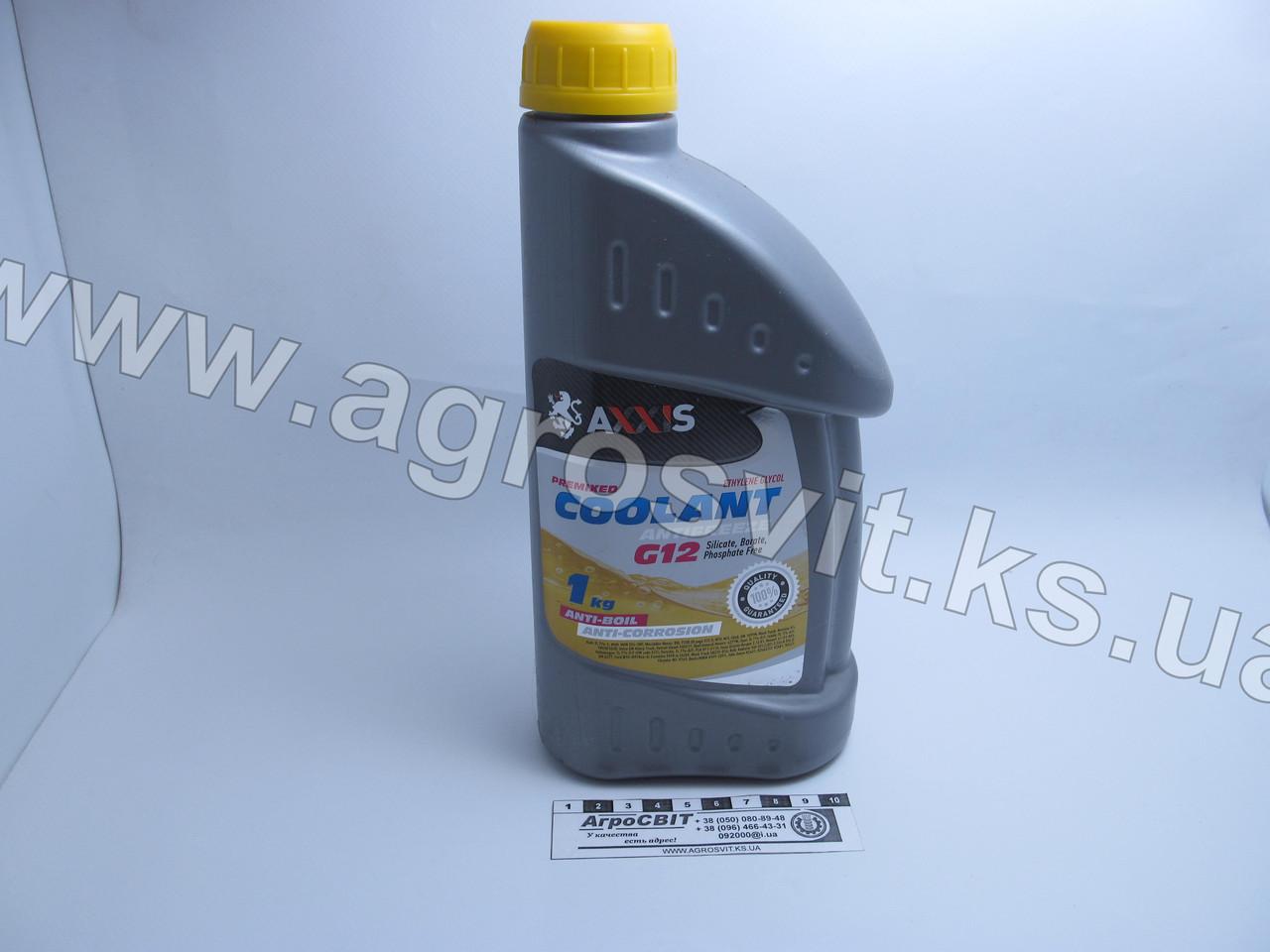 Антифриз (G12, желтый) 1 кг.