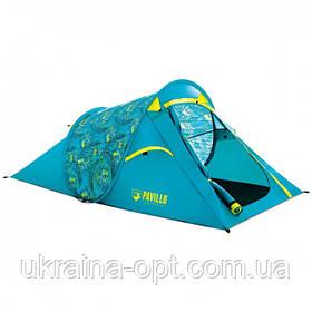 Палатка двухместная с матрасом и туристическим столиком со стульями 3в1.  Bestway 68098