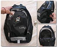 Городской черный рюкзак, фото 1