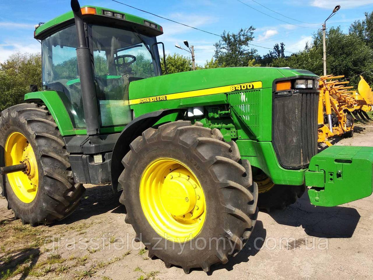 Оренда трактора John Deere 8400