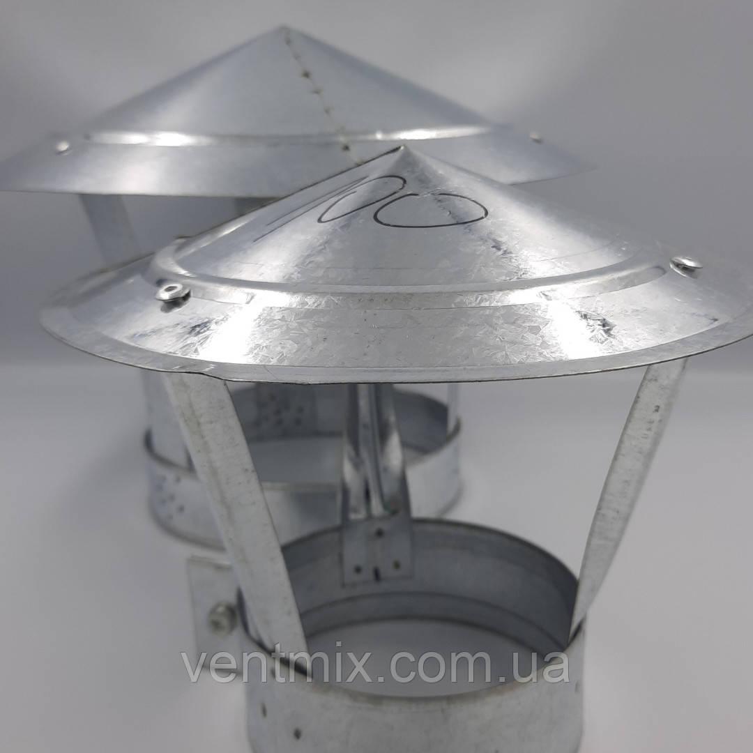 Грибок d 100 мм из оцинкованной стали