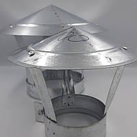 Грибок d 100 мм из оцинкованной стали, фото 1