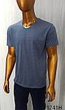 Мужская футболка MSY. 11241-8361(blue). Размеры: M,L,XL,XXL., фото 4