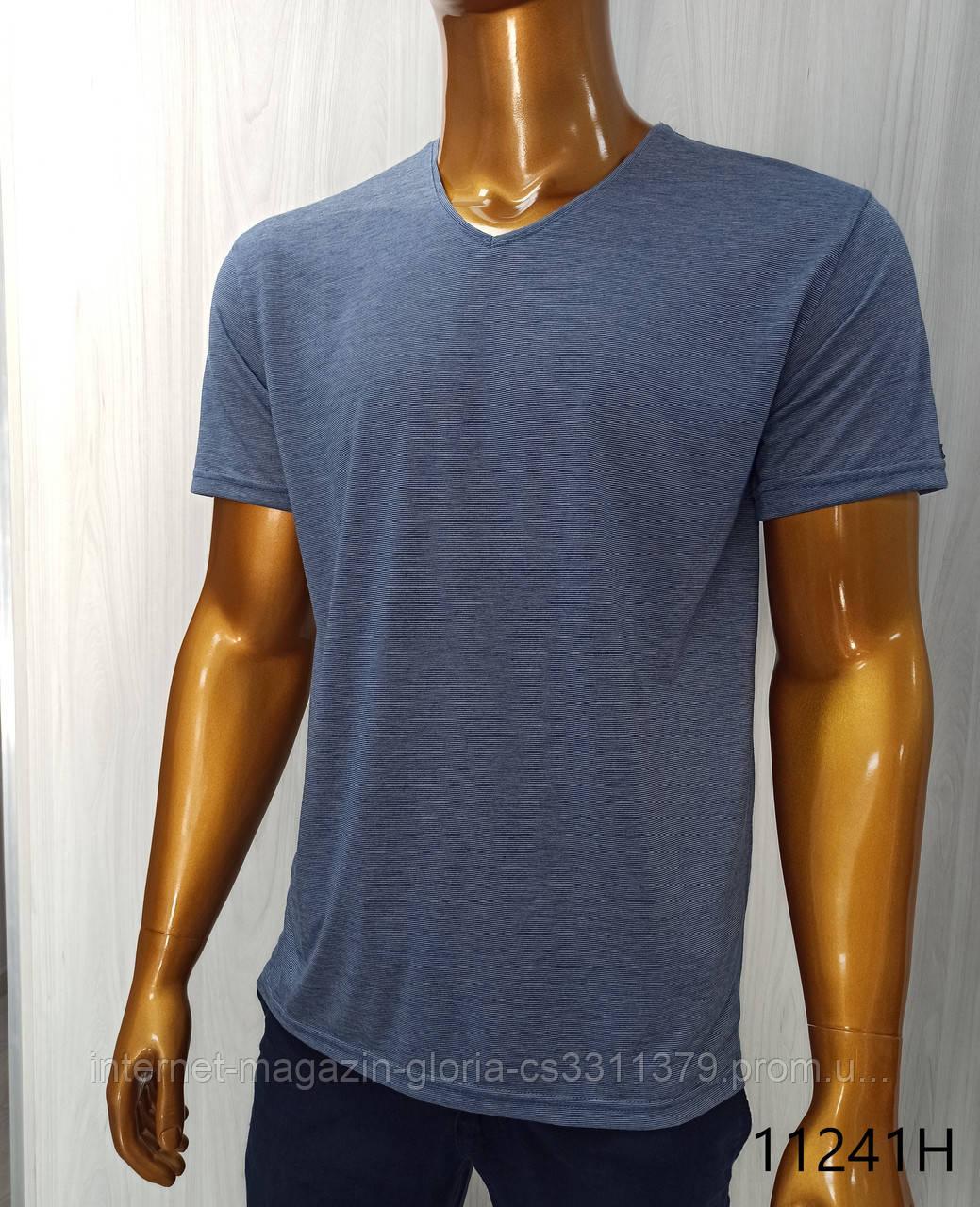 Мужская футболка MSY. 11241-8361(blue). Размеры: M,L,XL,XXL.