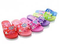 Детские летние шлепки Sidney для девочки, разных цветов. Размер 30-35.