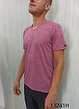 Мужская футболка MSY. 11241-8361(red). Размеры: M,L,XL,XXL., фото 4