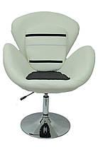Кресло хокер Bonro B-540 белое, фото 3