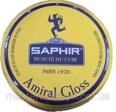 Крем Зеркальный блеск Saphir Amiral Gloss цвет бесцветный 50 мл