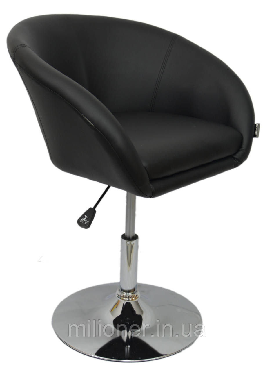 Кресло хокер Bonro B-645 черное