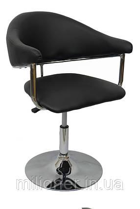 Кресло хокер Bonro B-622 черное, фото 2