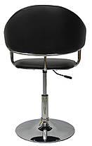 Кресло хокер Bonro B-622 черное, фото 3