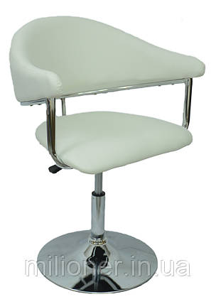 Кресло хокер Bonro B-622 белое, фото 2