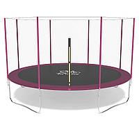 Батут FitToSky 374 см розовий