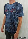 Мужская футболка MSY. 11230-8332(red). Размеры: M,L,XL,XXL.   Яркая молодёжная модель с модным принтом., фото 3