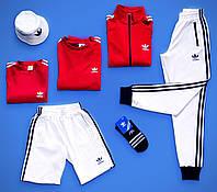 Спортивный костюм Adidas (Адидас) мужской осенний весенний демисезонный | Кофта + Штаны ЛЮКС