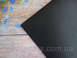 Фоамиран 1 мм, 50х50 см, цвет черный