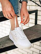 Жіночі кросівки Puma Cali Wn's White Rosewater, фото 2