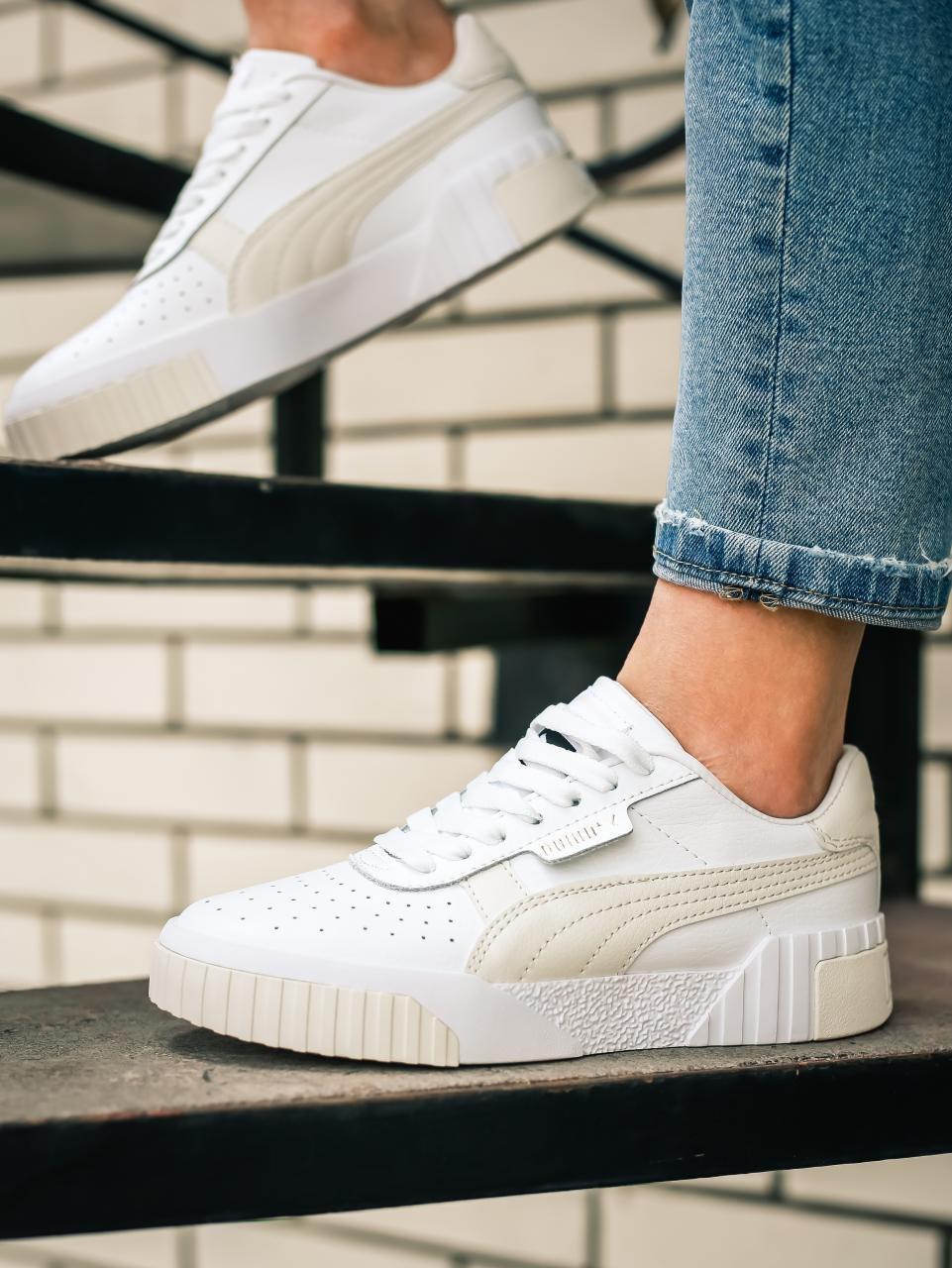 Жіночі кросівки Puma Cali Wn's White Rosewater