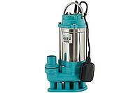 Насос канализационный 1100Вт 350л/мин Aquatica дренажный фекальный садовый для полива и откачки ям септиков