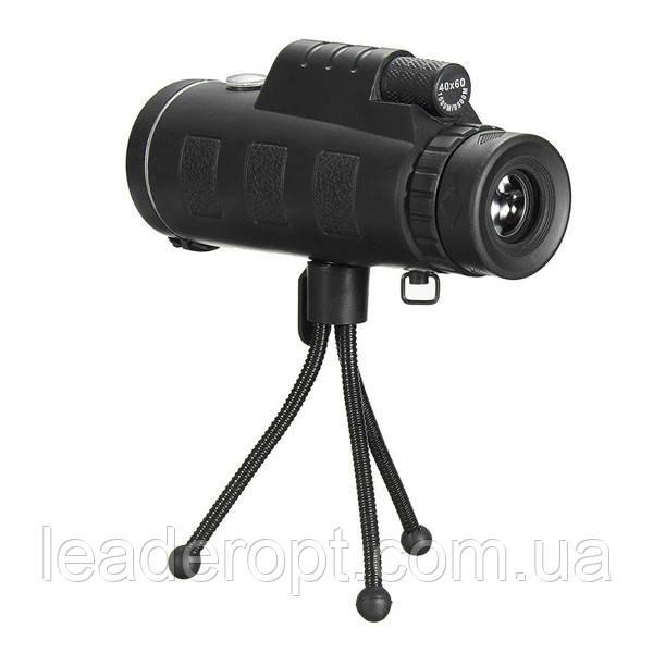 Монокуляр PANDA 40x60 с креплением для телефона и треногой сверхмощный